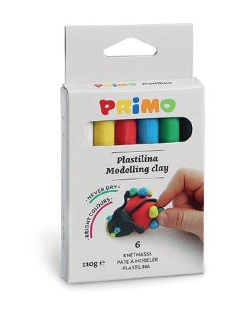 PRIMO Plastelína - 6 barev