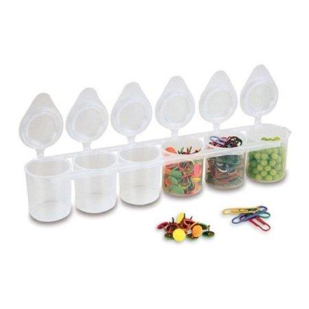 PRIMO Kelímek plastový - kazeta 6 x 25 ml