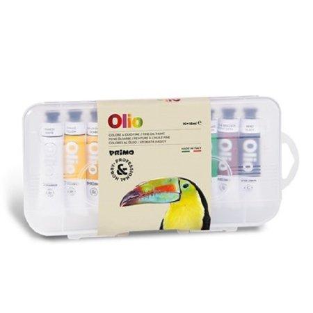 PRIMO Olejové barvy - 10 x 18 ml