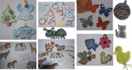 PRIMO MAGIC Výseky na malování - sada 8 - Moře