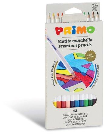 PRIMO MINABELLA Pastelky - 12 barev