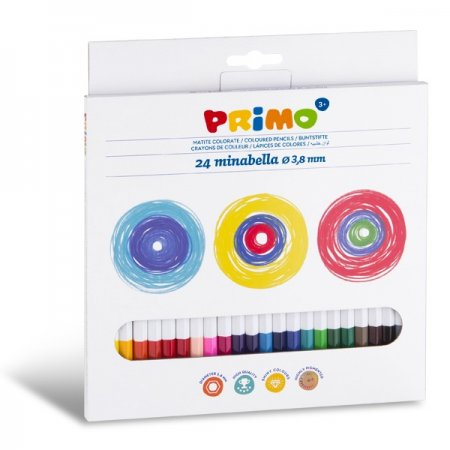 PRIMO MINABELLA Pastelky - 24 barev