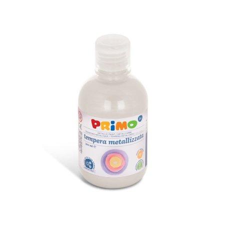 PRIMO METALLIC Temperová barva - 300 ml - bílá