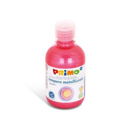PRIMO METALLIC Temperová barva - 300 ml - červená