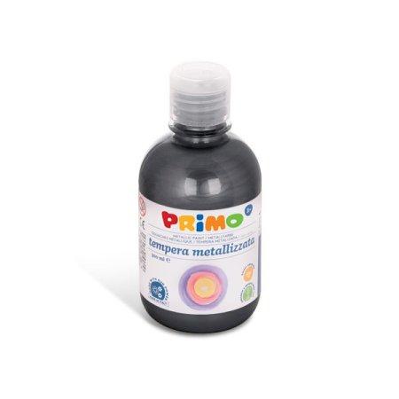 PRIMO METALLIC Temperová barva - 300 ml - černá