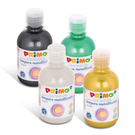 PRIMO METALLIC Temperová barva - 300 ml - stříbrná