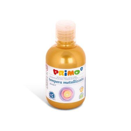 PRIMO METALLIC Temperová barva - 300 ml - zlatá