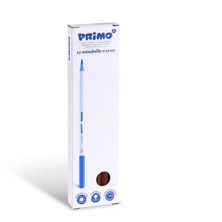 PRIMO Pastelka MINABELLA - 1 ks - hnědá siena pálená