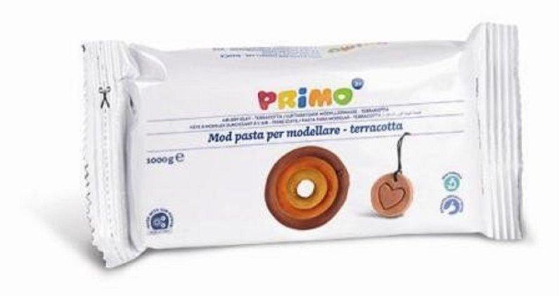 PRIMO Samotvrdnoucí hmota - 1000 g - terakota