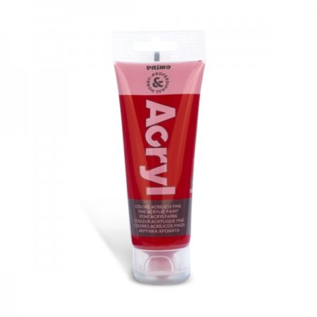 PRIMO Akrylová barva - 75 ml - karmínově červená