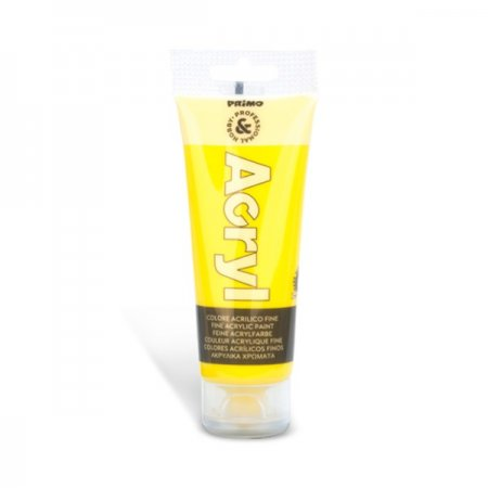PRIMO Akrylová barva - 75 ml - žlutá