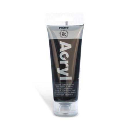 PRIMO Akrylová barva - 75 ml - černá