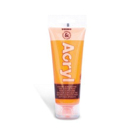 PRIMO FLUO Akrylová barva - 75 ml - oranžová
