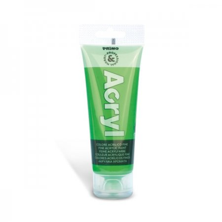 PRIMO FLUO Akrylová barva - 75 ml - zelená