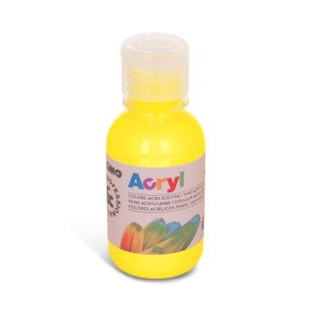 PRIMO Akrylová barva - 125 ml - žlutá