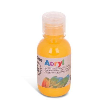 PRIMO Akrylová barva - 125 ml - středně žlutá