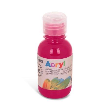 PRIMO Akrylová barva - 125 ml - tmavě růžová
