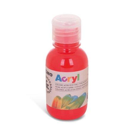 PRIMO Akrylová barva - 125 ml - červená