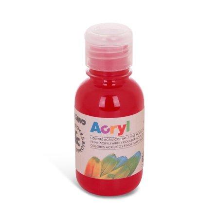 PRIMO Akrylová barva - 125 ml - karmínově červená