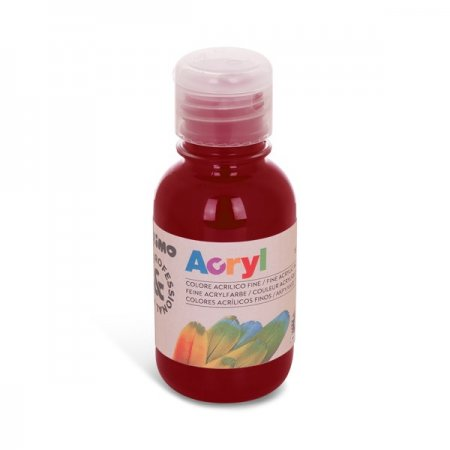 PRIMO Akrylová barva - 125 ml - bordó