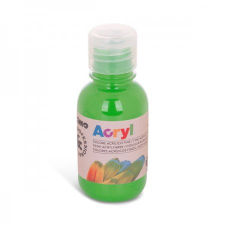 PRIMO Akrylová barva - 125 ml - světle zelená