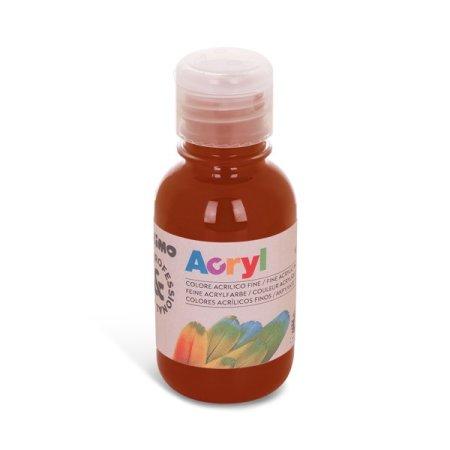 PRIMO Akrylová barva - 125 ml - hnědá siena pálená