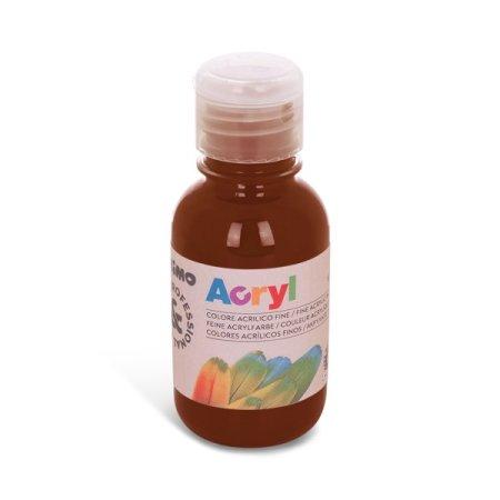 PRIMO Akrylová barva - 125 ml - hnědá umbra přírodní