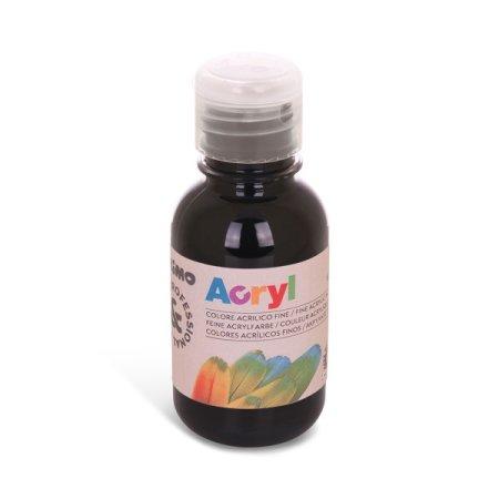 PRIMO Akrylová barva - 125 ml - černá