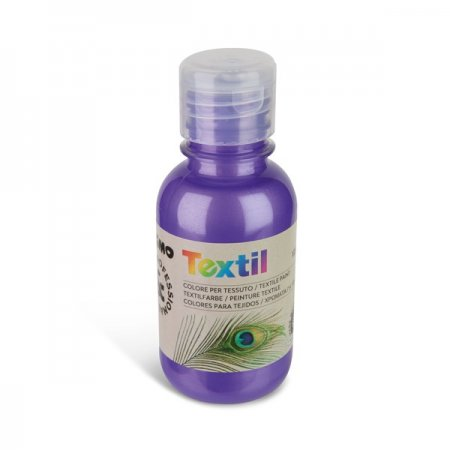 PRIMO METALIZA Barva na textil - 125 ml - fialová