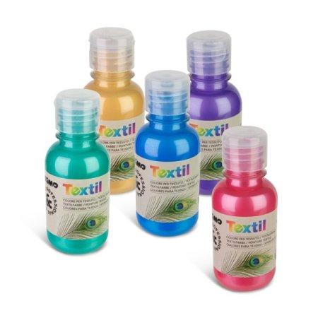 PRIMO METALIZA Barva na textil - 125 ml - zelená