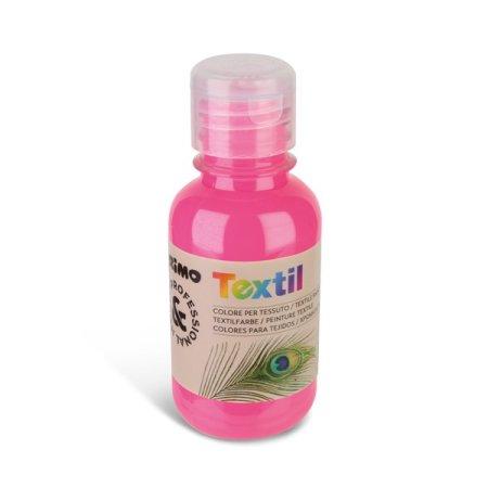 PRIMO FLUO Barva na textil - 125 ml - růžová