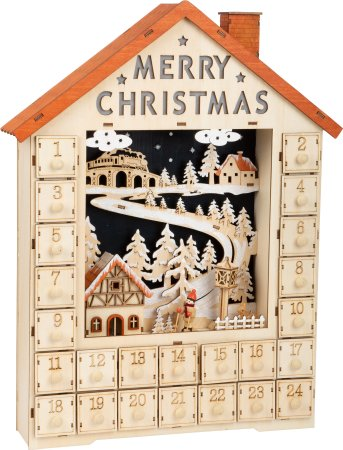 Small Foot Adventní kalendář - Veselé Vánoce