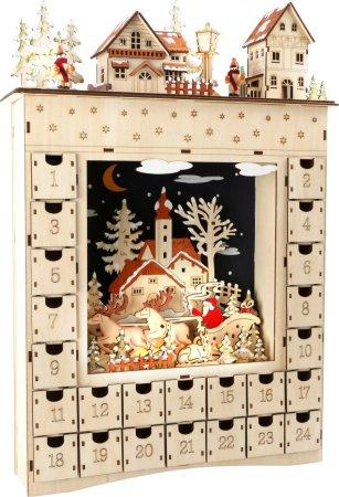 Small Foot Dřevěný adventní kalendář - Zimní sen