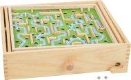 Small Foot Kuličkový labyrint Race