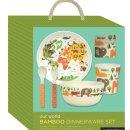 Petitcollage Bambusová jídelní sada World