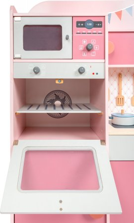 Small Foot Dřevěná kuchyňka Gourmet - růžová