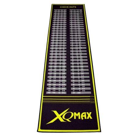 XQMax Darts Dart Mat Checkout - Koberec k terči - black-green