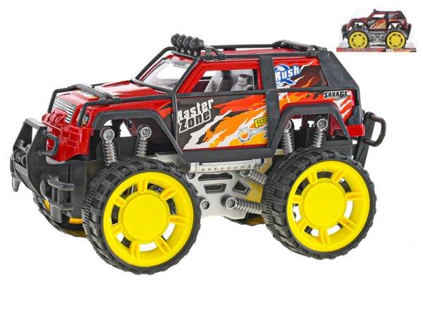Mikro trading Auto terénní - 26 cm - červená