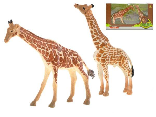 Mikro trading Žirafa s mládětem