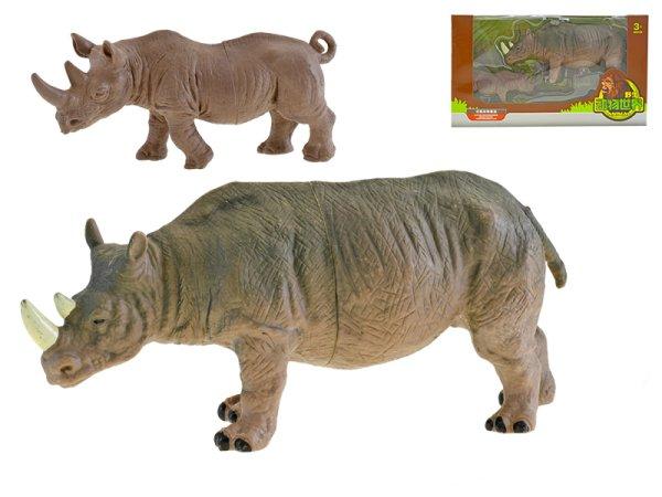 Mikro trading Nosorožec s mládětem