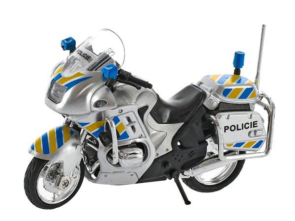 Mikro trading Motorka policejní - 12 cm