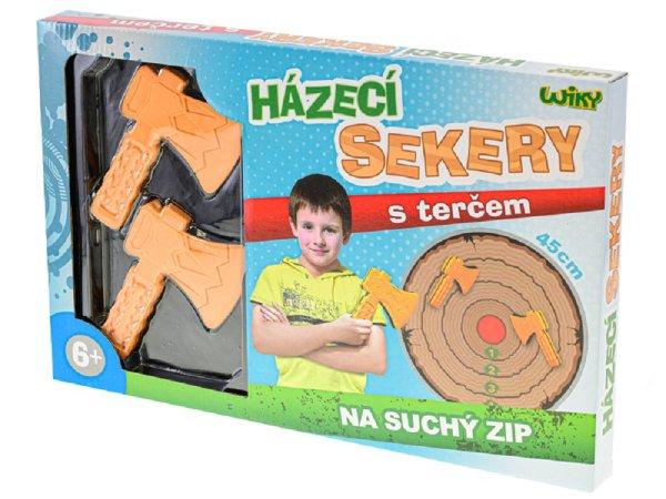 Wiky Sekery házecí s terčem - 45 cm