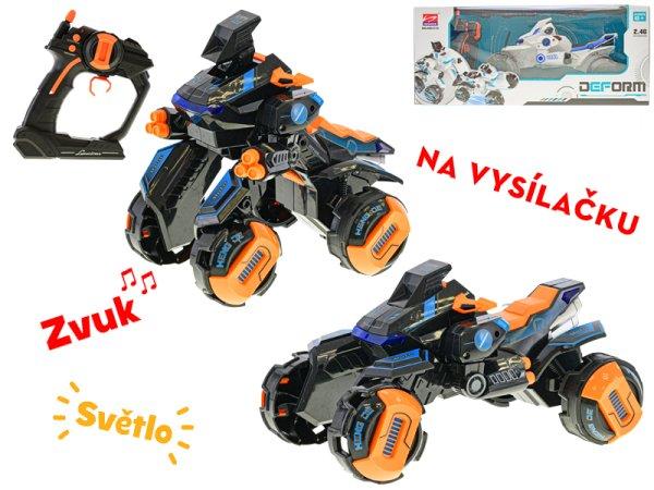 Mikro trading RC Auto-robot - čtyřkolka - 28 cm
