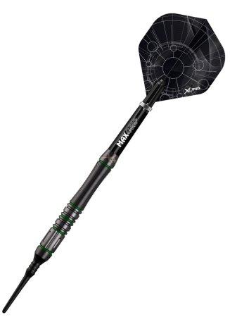XQMax Darts Šipky Velocity Green - 18g
