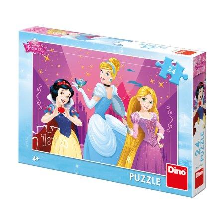 Dino Puzzle - Odvážné princezny - 24 dílků