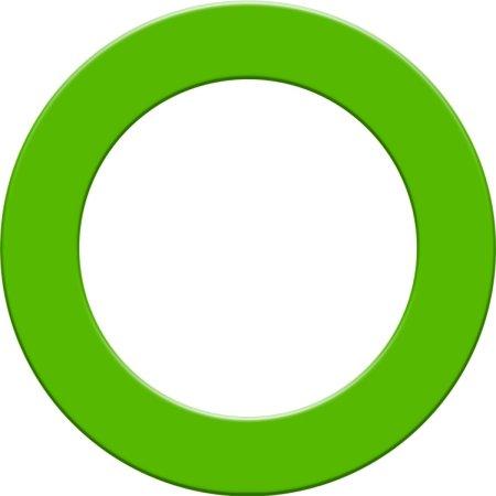 Designa Surround - kruh kolem terče - Green