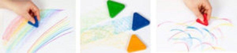 PRIMO Sada voskových pastelek MAGIC NEON - 10 ks