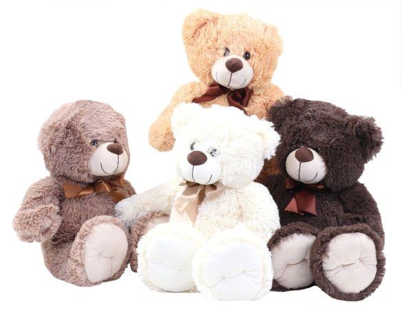 Alltoys CZ Plyšový medvěd s mašlí - 50 cm