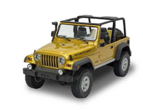 Revell Plastikový model auta Jeep Wrangler Rubicon