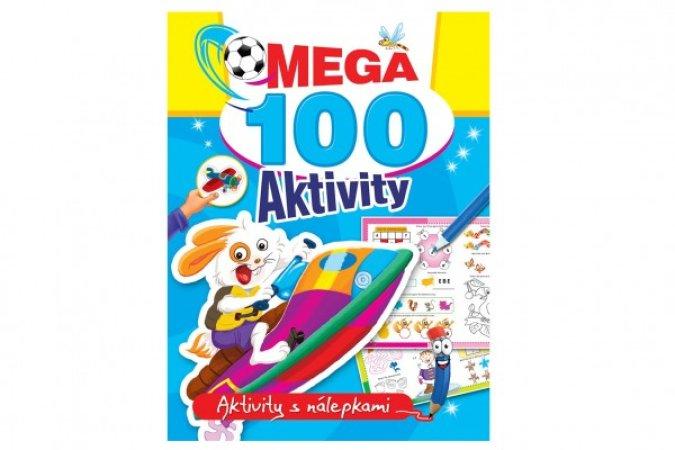 Teddies Mega aktivity s nálepkami 100 - Zajíc - CZ verze